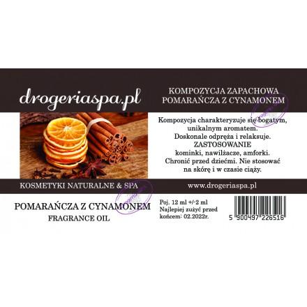 Olejek zapachowy Pomarańcza z Cynamonem 12ml