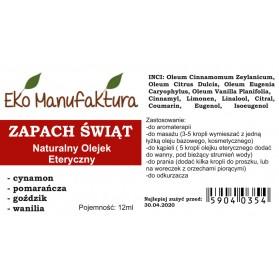 Olejek Eteryczny Zapach Świąt 12ml