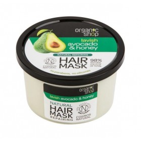 Maska do włosów regeneracyjna Avocado & Honey Organic Shop
