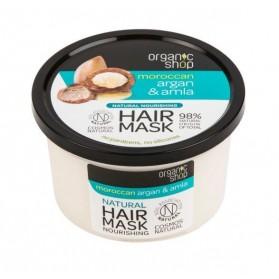 Maska do włosów odżywcza Argan & Amla Organic Shop