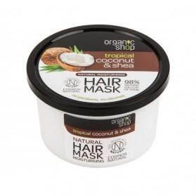 Maska do włosów nawilżająca Coconut & Shea Organic Shop