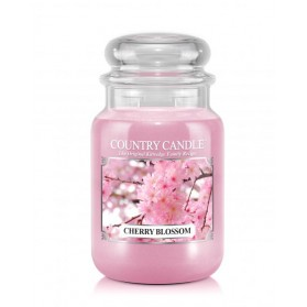 Cherry Blossom Country Candle słoik duży