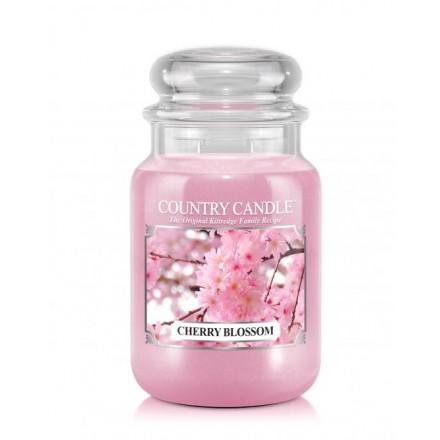 Cherry Blossom Country Candle słoik duży
