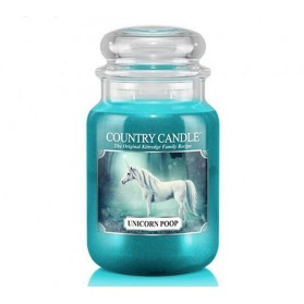 Unicorn Poop Country Candle duży słoj