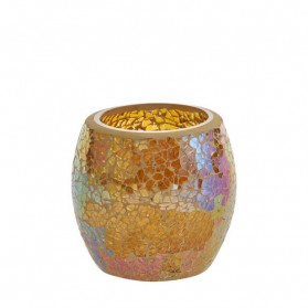 Glam Mosaic świecznik na sampler