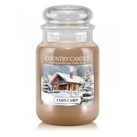 Cozy Cabin Country Candle słoik duży
