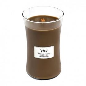Amber & Incense WoodWick duża świeca