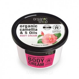 Japońska Kamelia balsam do ciała Organic Shop 280ml