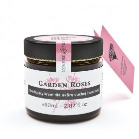 Nawilżający krem do skóry suchej i wrażl Garden Roses Make Me Bio