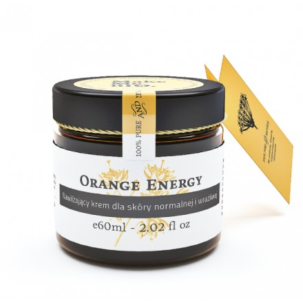 Nawilżający Krem Orange Energy Make Me Bio