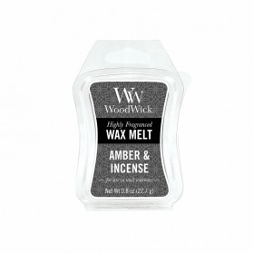 Amber & Incense wosk Woodwick