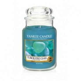 Turquoise Glass słoik duży