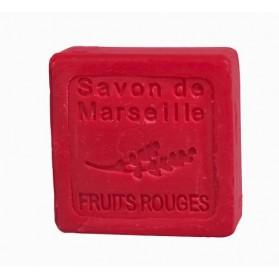 Mydło Marsylskie Czerwone Owoce 30g