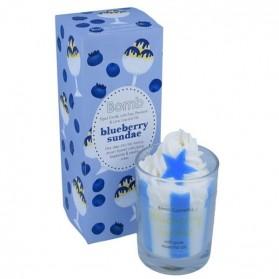 Świeca z pianką Blueberry Sundae Bomb Cosmetics