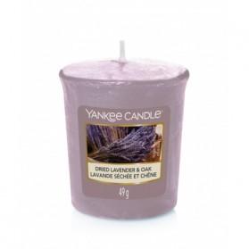 Dried lavender & Oak sampler votive