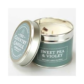 Pastels Sweet Pea & Violet The Country Candle Superstars