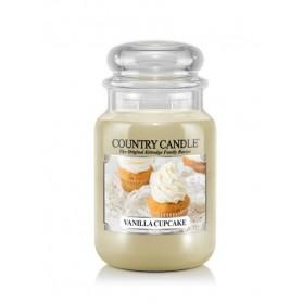 Vanilla Cupcake słoik duży Country Candle