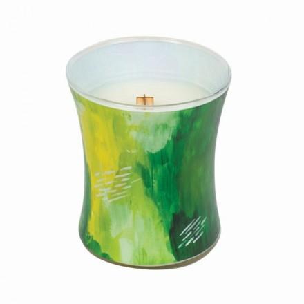 Lime Bergamot średnia świeca WoodWick