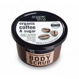 Cukrowy peeling Brazylijska kawa