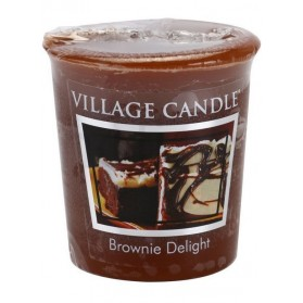 Brownie Delight Votive Village Candle