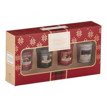 Alpine Christmas-4 samplery/votive zestaw