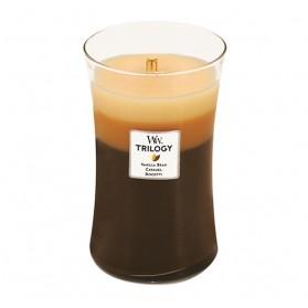Cafe Sweets duża świeca Trillogy WoodWick