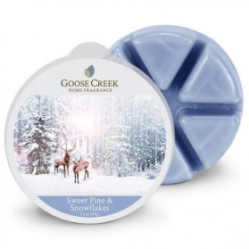 Sweet Pine & Snowflakes wosk Goose Creek