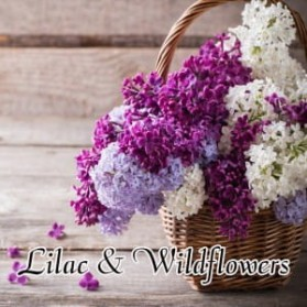 Lilac & Wildflowers wosk Milkhouse Candles