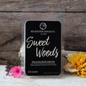 Sweet Woods Leaves wosk Milkhouse Candles