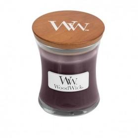 Black Plum Cognac Mała Świeca WoodWick