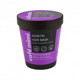 Cafe Mimi keratynowa maska do włosów 220ml