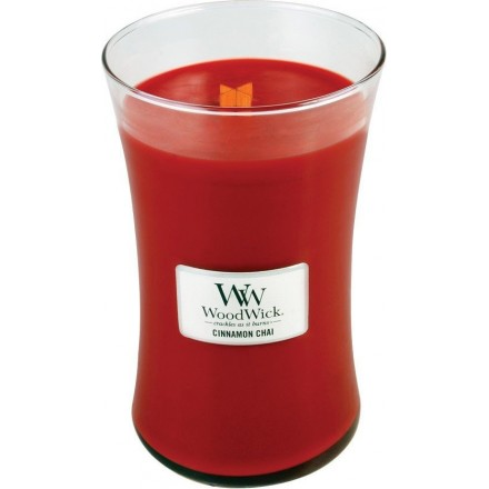 Cinnamon Chai świeca duża WoodWick