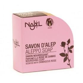 Mydło z Aleppo Róża Damasceńska 100g