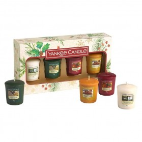 Zestaw Magical Christmas Morning Yankee Candle 4 samplery