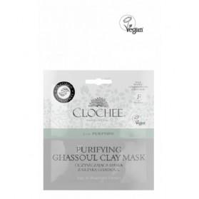 Oczyszczająca maska z glinką ghassoul Clochee
