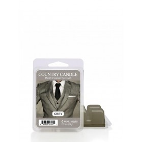 Grey wosk Country Candle
