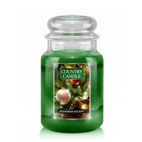 Bohemian Holiday słoik duży Country Candle