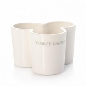 Essential - potrójny świecznik na votive ceramiczny