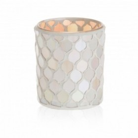 Champagne Pearl świecznik na sampler