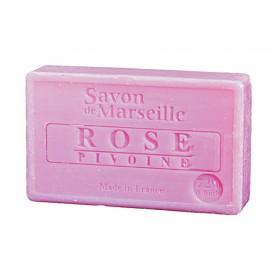 Mydło Marsylskie Róża-Piwonia 100g