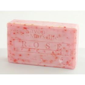Mydło Marsylskie Płatki Róży 100g