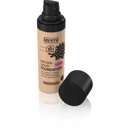 Podkład do makijażu 05 - migdałowy beż - Lavera