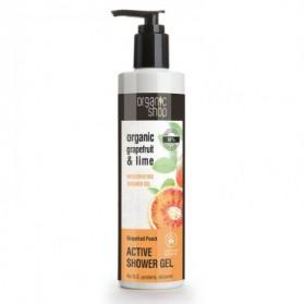 Żel pod prysznic Greipfrut i Pomarańcza  Organic Shop