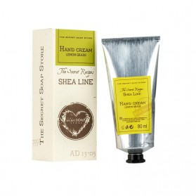 Shea Line Krem do Rąk Lemon Grass 80 ml