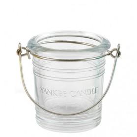 Świecznik na sampler Bucket przezroczysty
