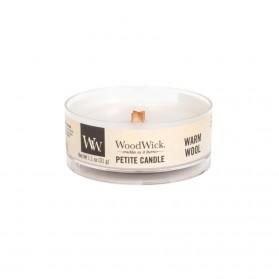Warm Wool świeca petite WoodWick