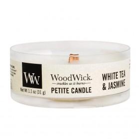 White Tea & Jasmine świeca petite WoodWick