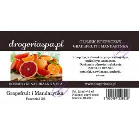 Olejek Eteryczny Grapefruit i Mandarynka 12ml