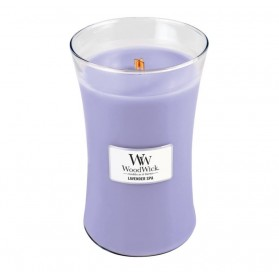 Lavender Spa duża świeca WoodWick