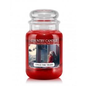 Twas the Night słoik duży Country Candle
